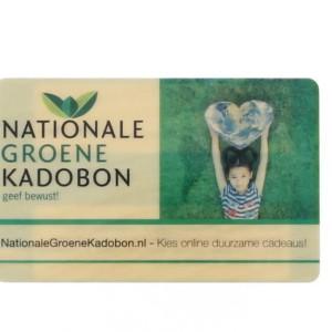 duurzaam cadeau NationaleGroeneKadobon